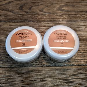 Two CoverGirl TRUblend Loose Mineral Powder Tan